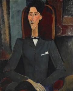 Cocteau par Modigliani