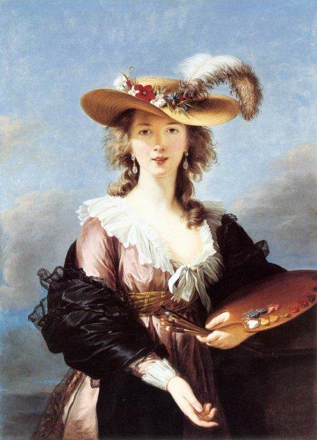 Autoportrait, après 1782, Elisabeth Vigée-Lebrun, (Londres, National Gallery).